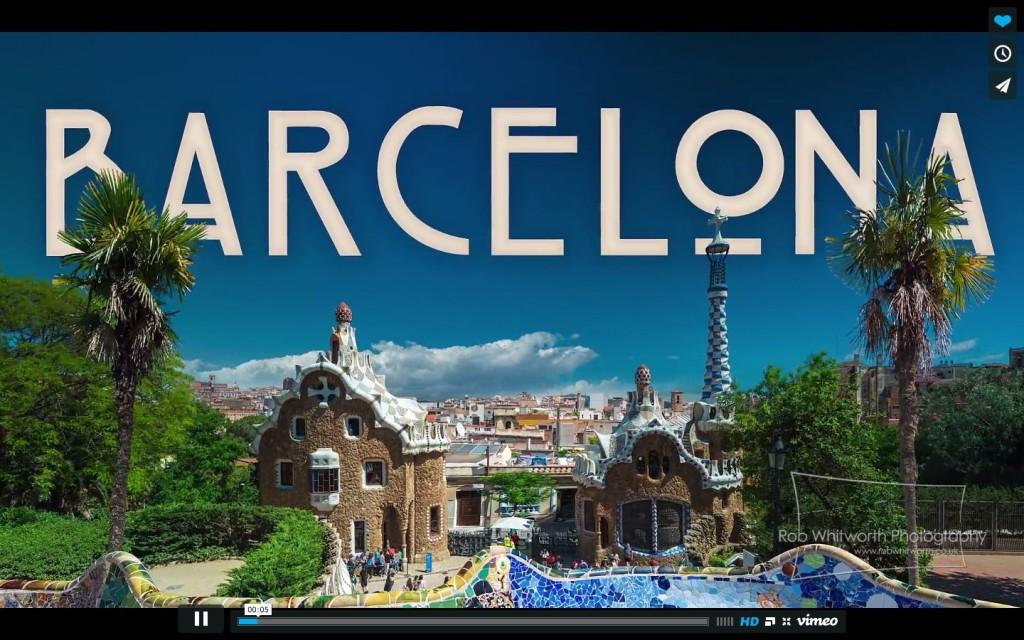 BARCELONA!!! Timelapse-hyperlapse videó egy új szinten