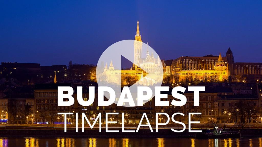 Új timelapse videó: BUDAPEST!!