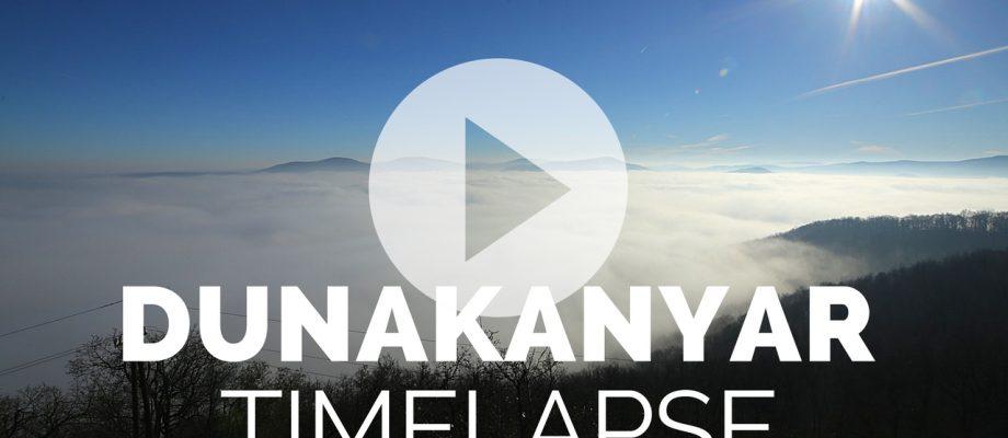 Új timelapse videóm: Dunakanyar a felhőtengerben (+így készült)