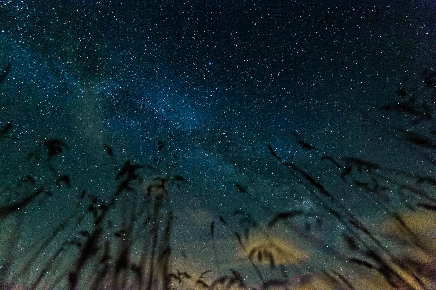 Balmazújváros, 2015. július 13. A Tejút fényes sávja látható a Hortobágy feletti égbolton Balmazújváros térségéből fotózva 2015. július 12-én este. MTI Fotó: Czeglédi Zsolt