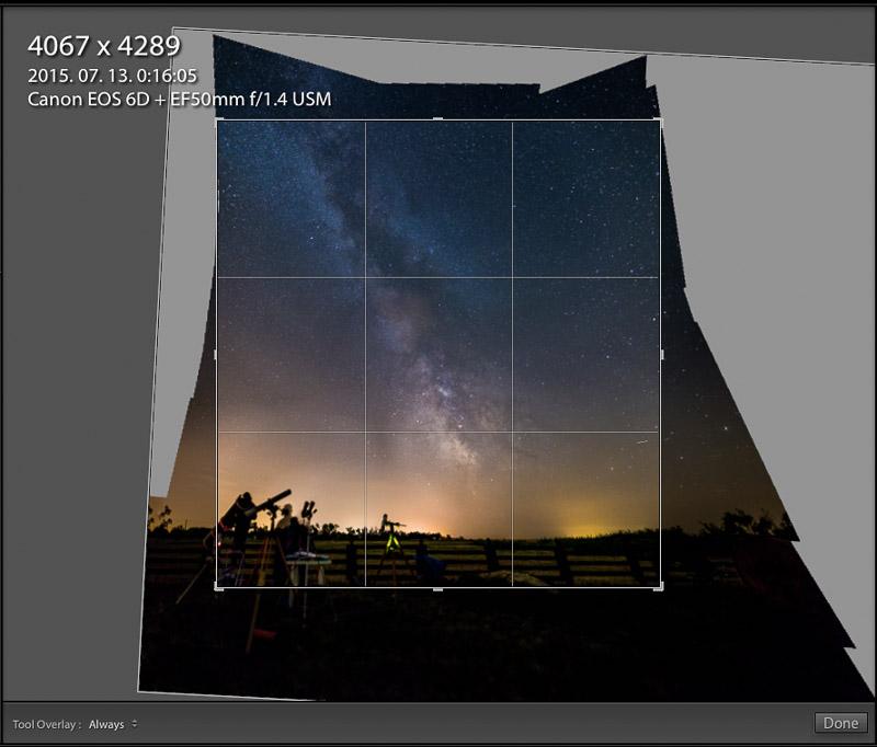 perspektivikus panoramakep oldalai görbék