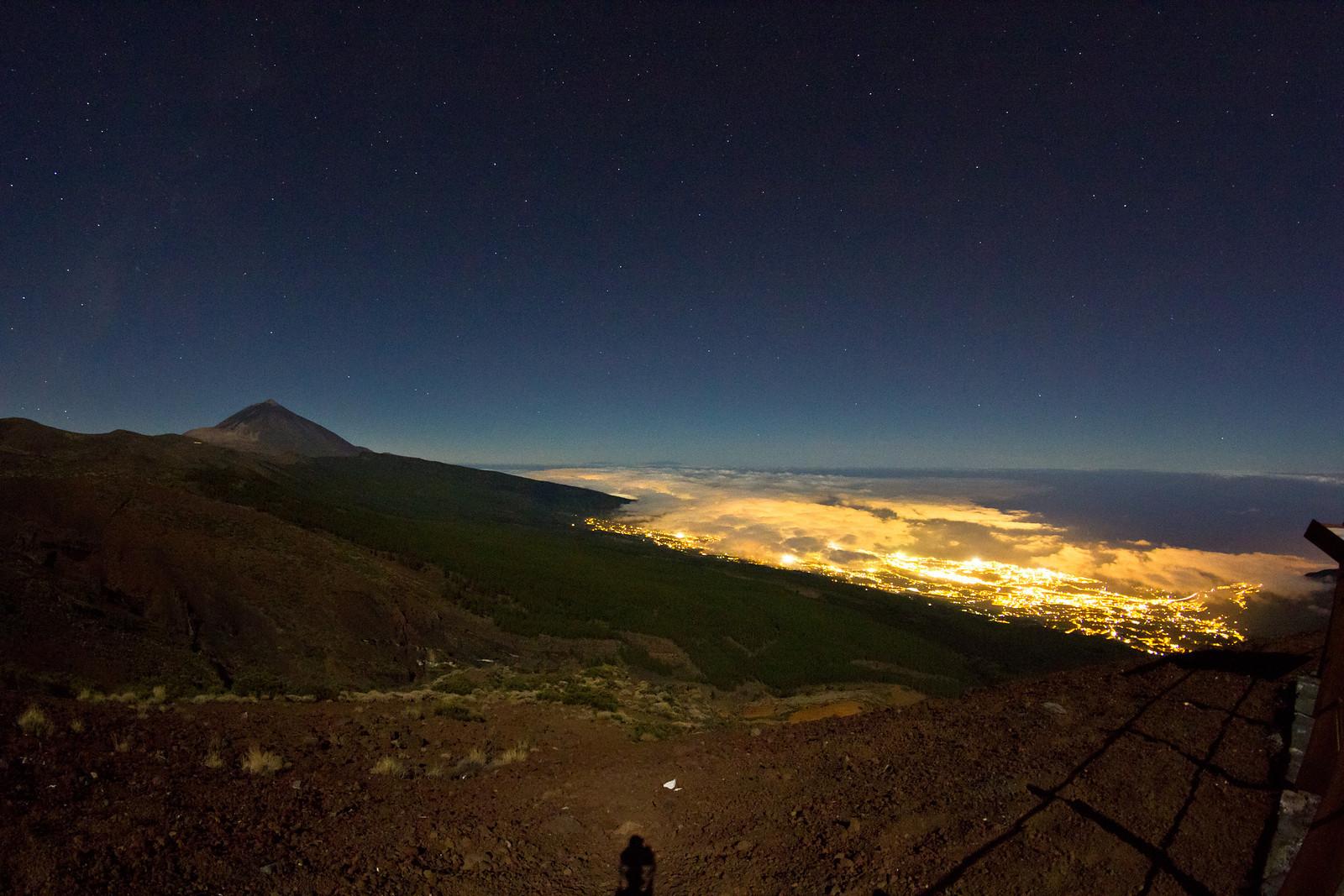 Samyang halszemmel Tenerife szigetéről