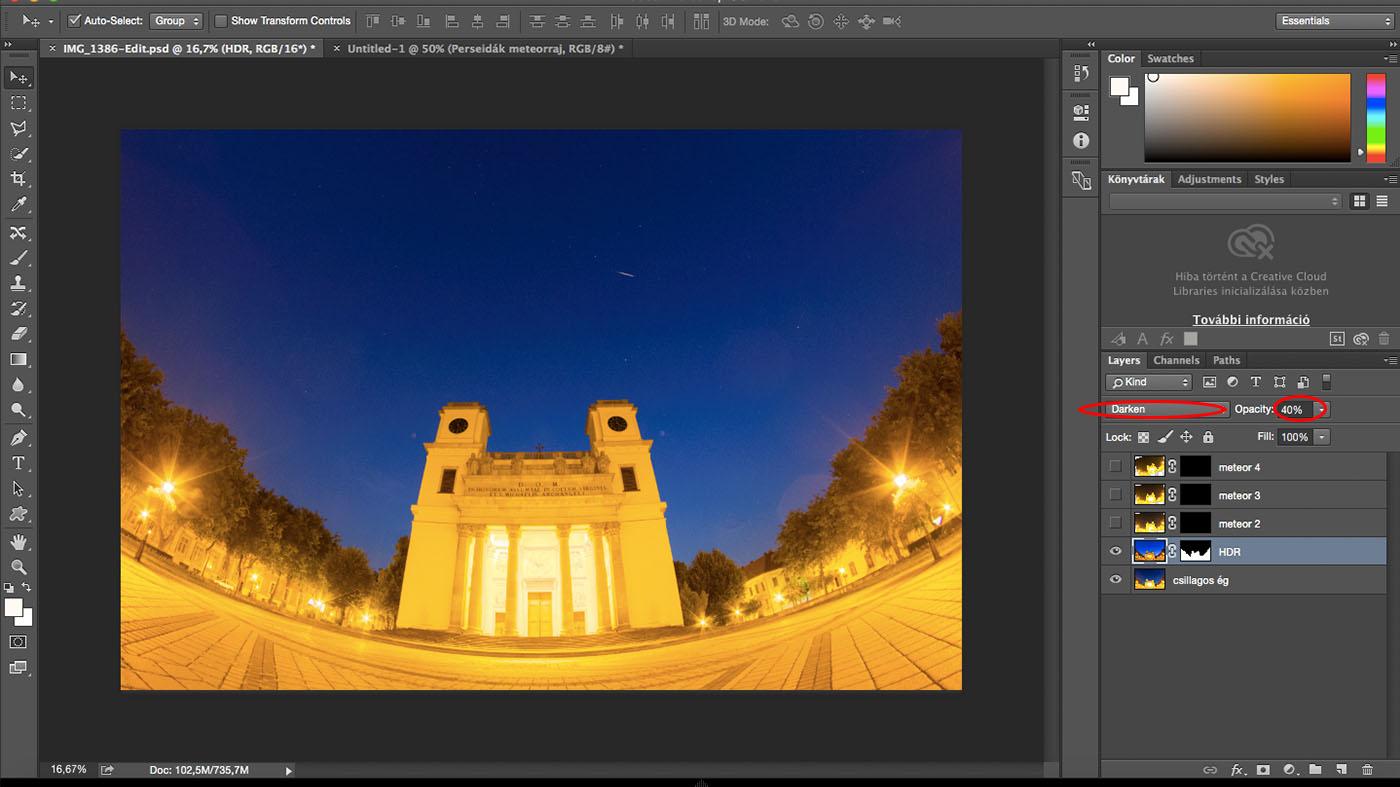 Photoshop rétegmaszk HDR