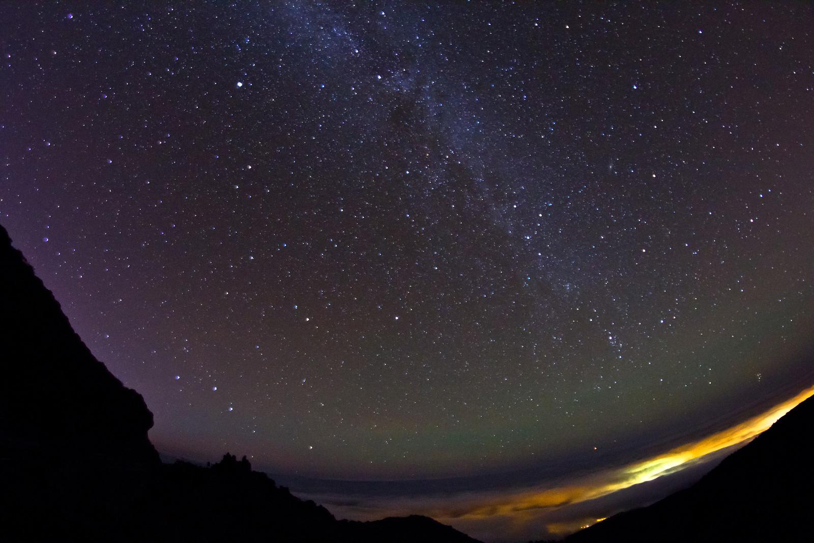 Samyang halszem csillagos égen f/3,5