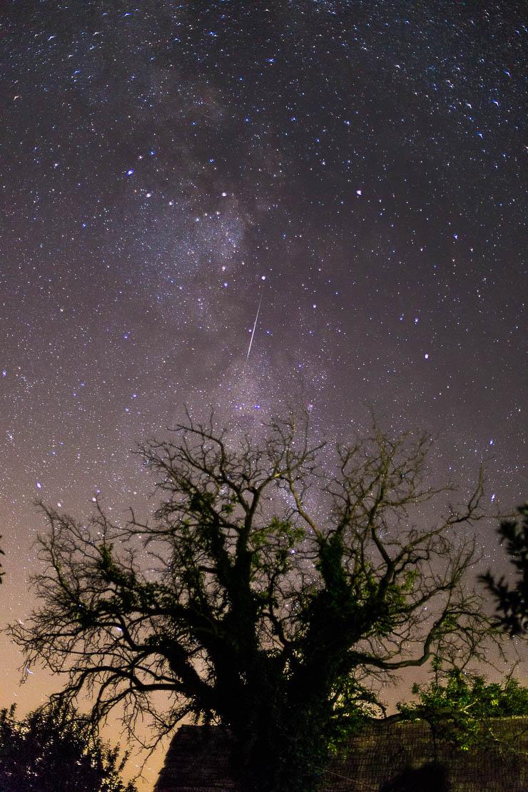 Meteor fotózás 50mm f:1,4 rekesz, Canon 6D