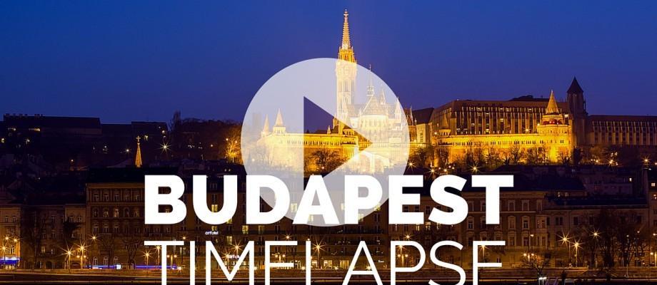 Budapest Timelapse video