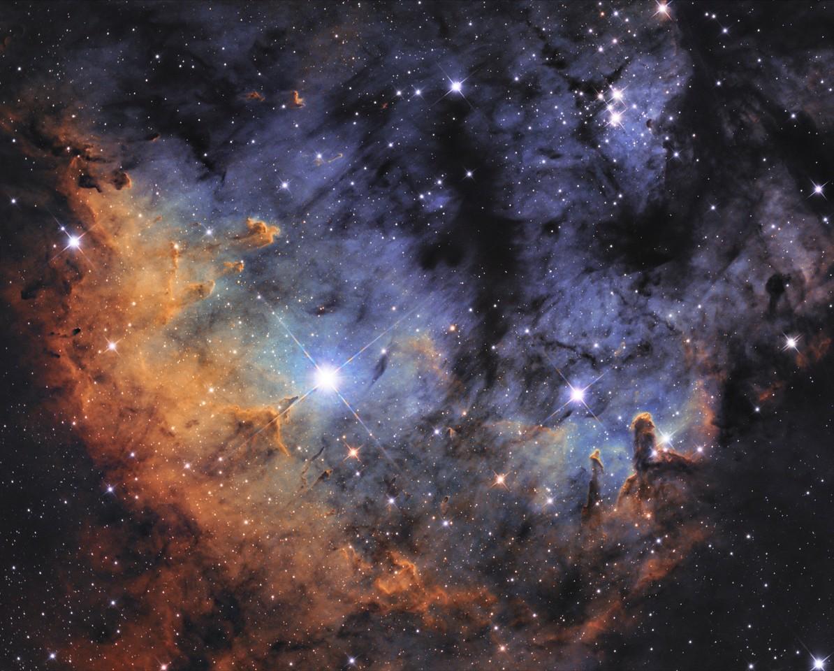 Bagi László -  NGC-7822 jelű, Ördögfej-köd