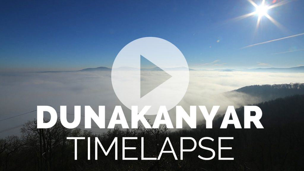 dunakanyar timelapse video