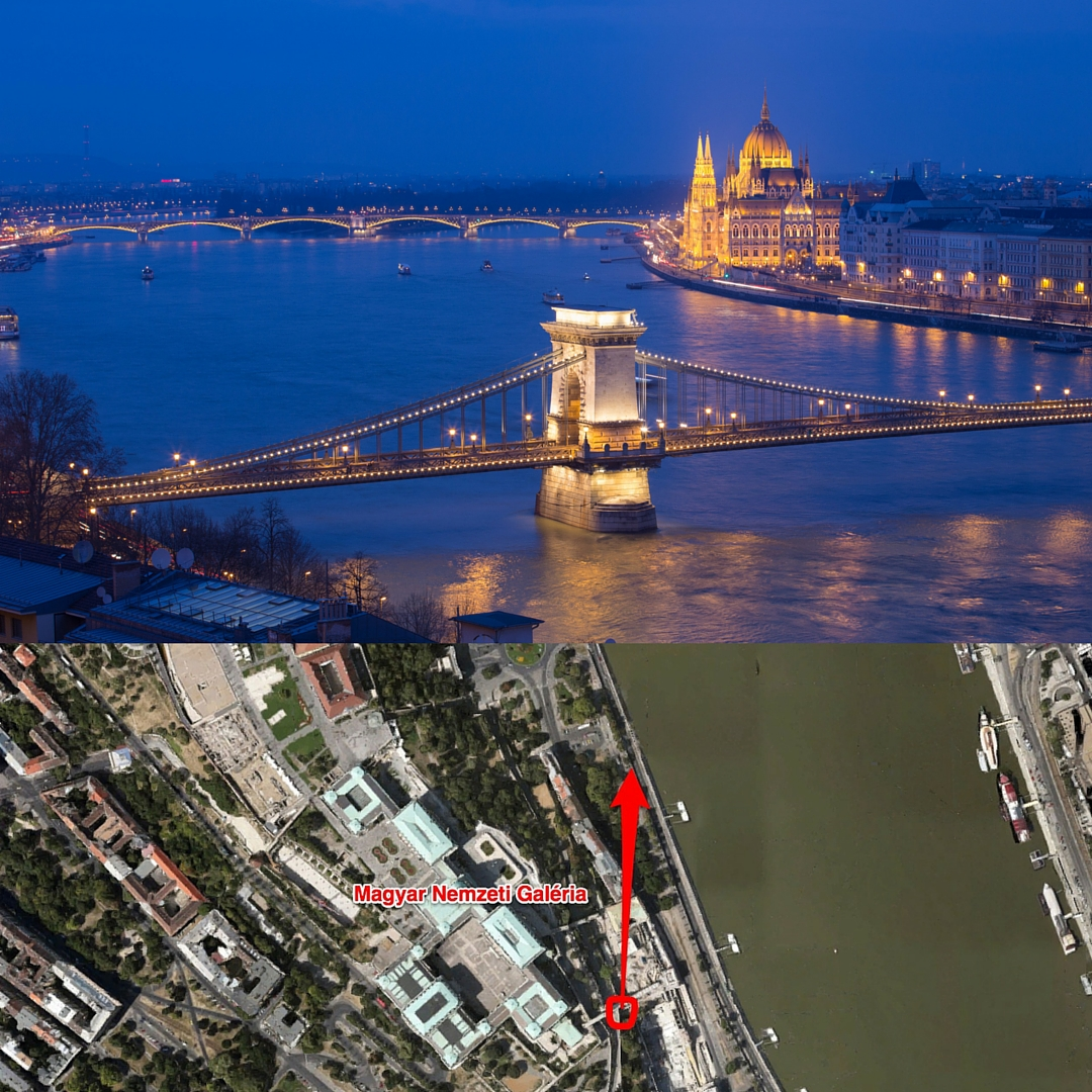 Budapest a kékórában a Várból