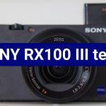 Sony RX100 III fényképezőgép teszt