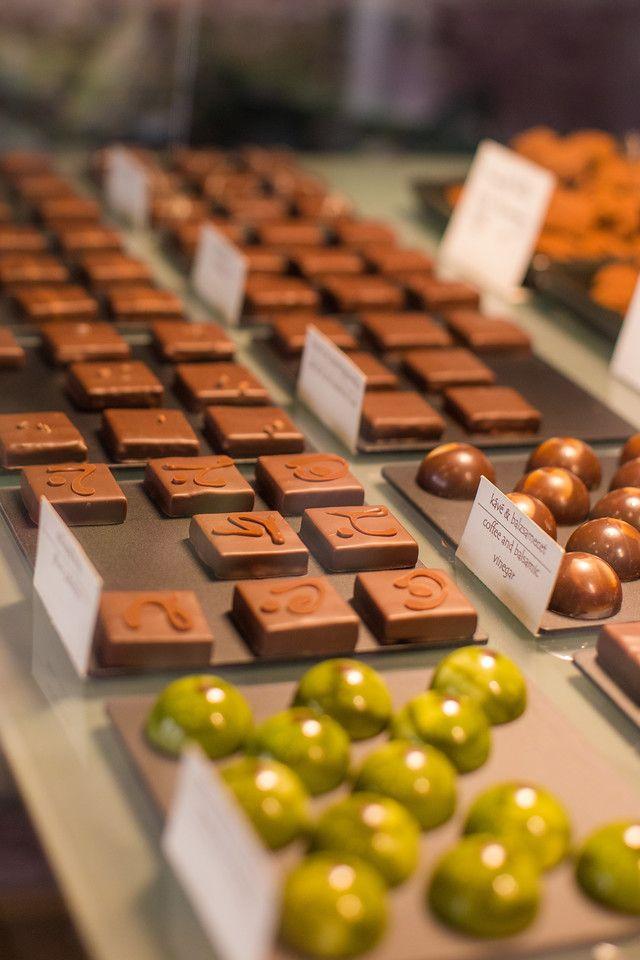 Rózsavölgyi csokoládé bonbonjai
