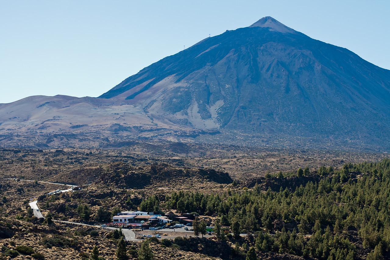 Teide hegy egyensuly