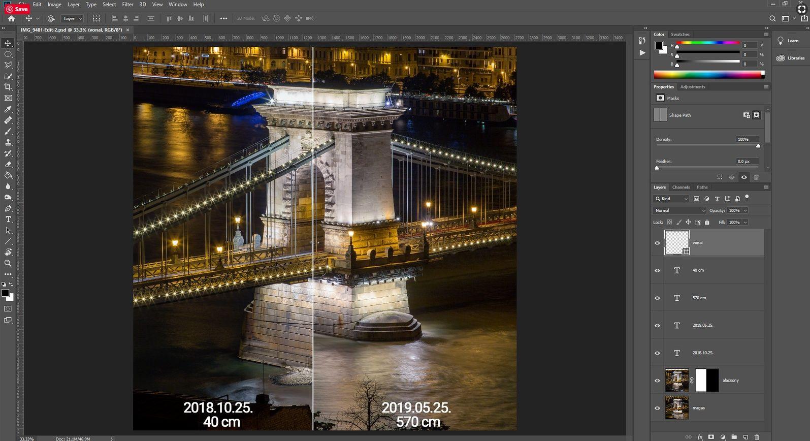 kompozitálás photoshopban