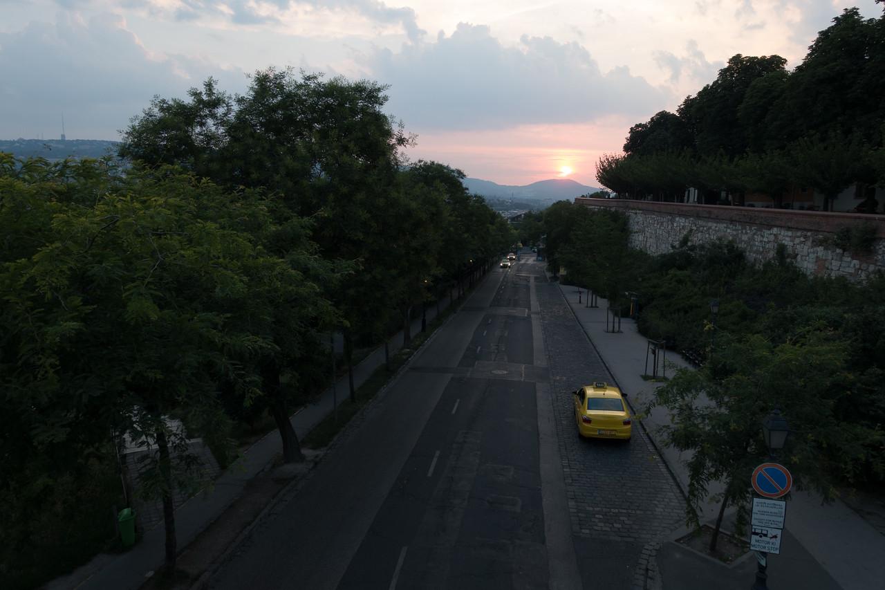 Napnyugtás RAW fotó szerkesztés előtt