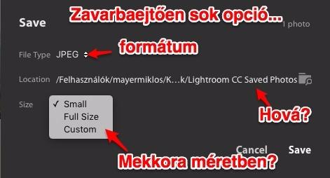 lightroom cc export opciók 1